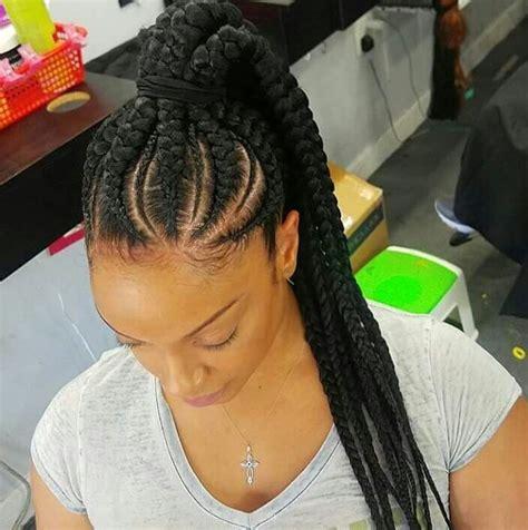 ghana updo ponytail braids 256 best images about shanita braid styles on pinterest