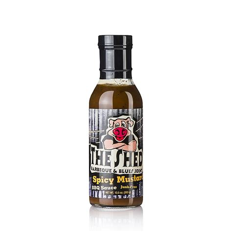 Shed Bbq Sauce by The Shed Spicy Mustard Bbq Sauce 350 Ml Glas Spiceworld