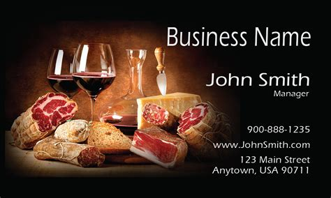 Catering Business Cards Templates Free by Catering Business Cards Free Templates Printifycards