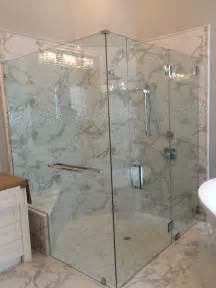 which options for frameless shower doors the glass