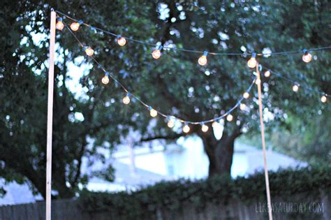 outdoor hanging lights for trees 15 inspirations of hanging outdoor lights without trees