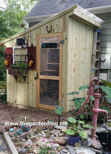 diy garden shed plans  ideas