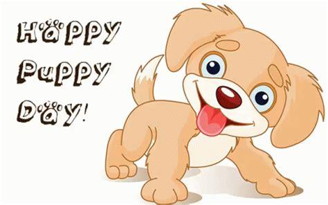 happy puppy gif happy puppy day gif nationalpuppyday puppy discover gifs