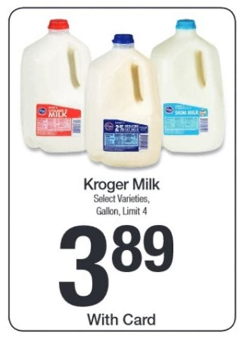 free milk at kroger coupon matchup mylitter one deal kroger milk only 2 64 with money saving phone apps