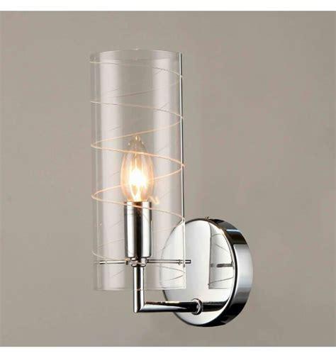 applique in vetro applique design tubo vetro e14 edell