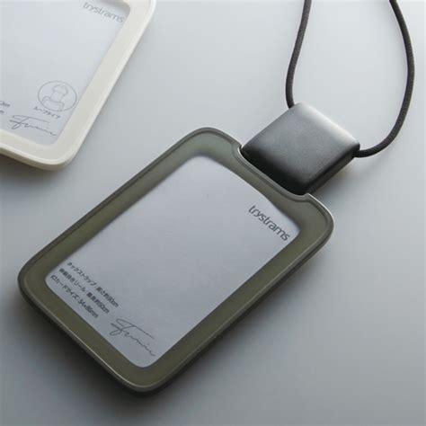 design id card holder waki stationery rakuten global market トライストラムス