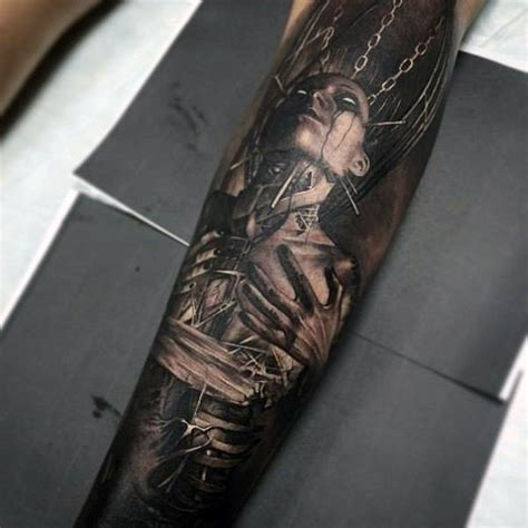 men forearm tattoo top 75 best forearm tattoos for cool ideas and designs