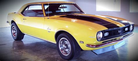 yellow 68 camaro car maximum 187 archive yellow 68 camaro w black z
