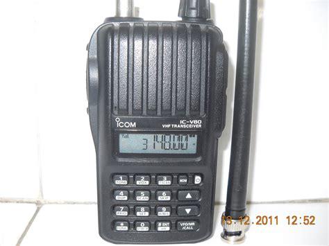 Ht Radio Icom V80 Vhp sinar agung y c 2 v d i ht icom v80 batt litium