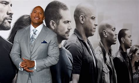 fast and furious you better hide your baby oil the rock throws shade again at vin diesel in new lengthy