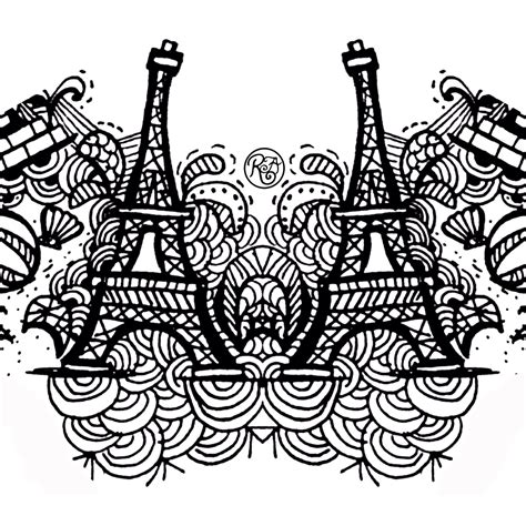 doodle editing name doodle eiffel tower