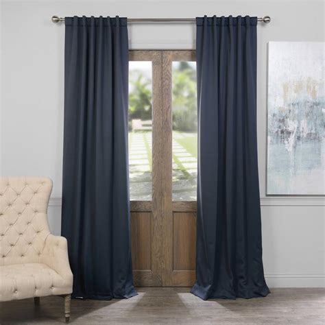 blackout curtains pair exclusive fabrics furnishings nocturne blue blackout