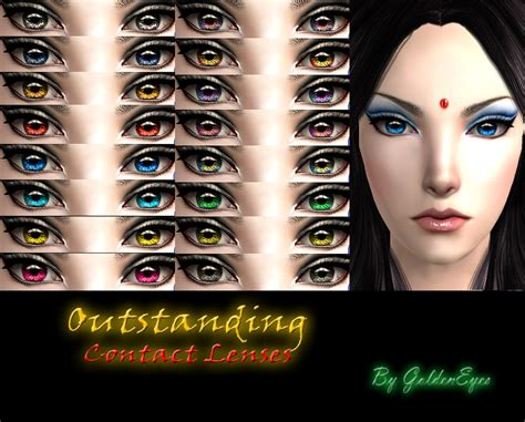 sims 4 cc sclera contact mod the sims outstanding contact lenses full eyeball