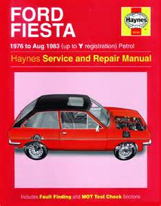 Ford Repair Haynes Manual Ford 1976 Aug 1983 Up To Y