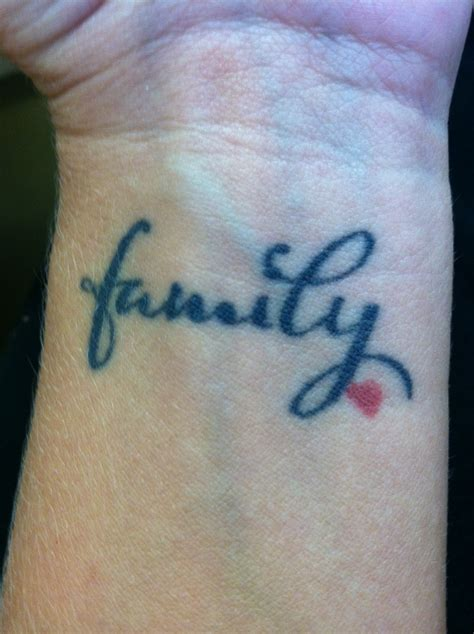 tattoo designs that mean family 28 tattoos about family family on wrist www