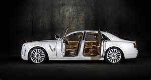 White Rolls Royce Ghost Mansory Rolls Royce White Ghost Limited