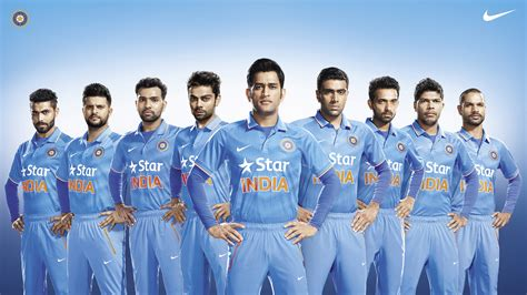 team india team india unveils nike s new cricket kit for one day