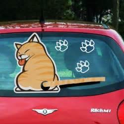 Aufkleber Hund Heckscheibe by Aufkleber Sticker Hund Katze Tier F 252 R Auto Kfz Heckscheibe