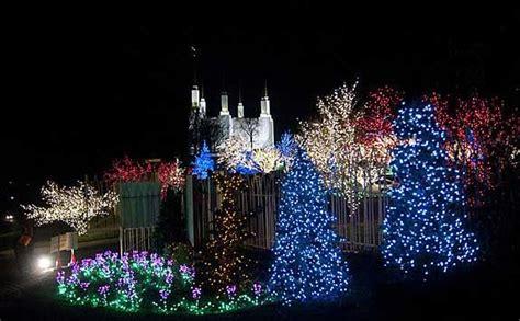 mormon temple dc christmas lights 17 best images about light festival images on pinterest