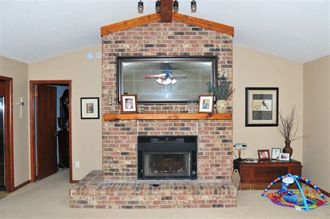 Brickwork Fireplace by Christine Fife Interiors Design With Christine The Dated Brick Fireplace