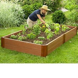 raised garden bed kit 4 x 8 x 12 quot for the home