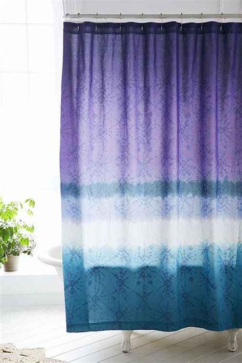 magical thinking shower curtain magical thinking jaya dip dye shower curtain urban
