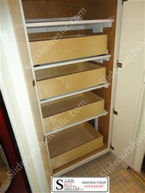 pull out pantry shelves on pull out shelves