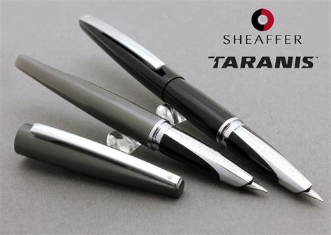 Pen Sheaffer Taranis 9444 Sleek Chrome Fountainpen stationary shop wancher rakuten global market taranis