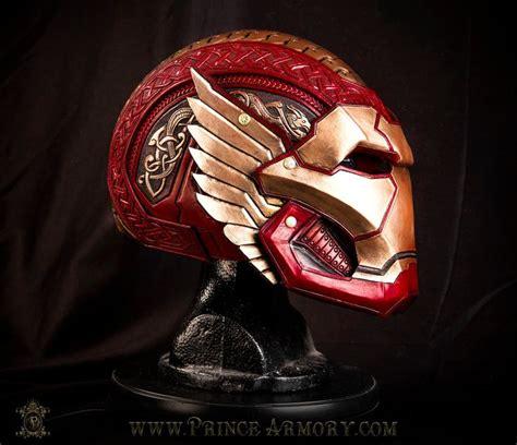 design your own helmet games asgardian iron man helmet by azmal agents of shield marvel