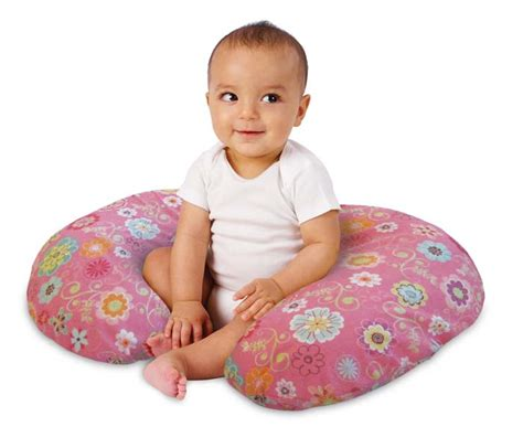boppy pillow with slipcover wildflowers