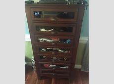 Hi, This Is A 7-drawer Glass Front Lingerie Chest That I ... B 29 Inside