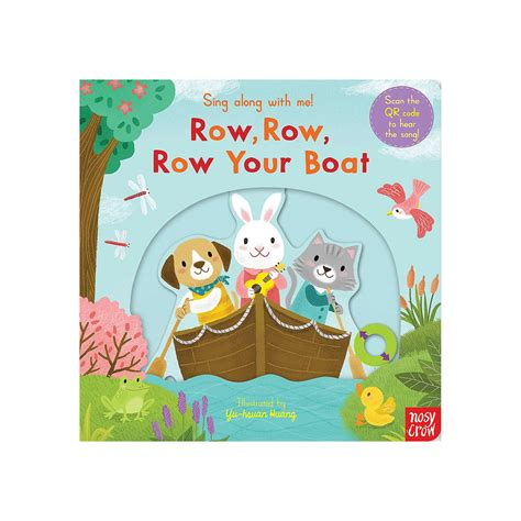 row row your boat if you see a crocodile row row row your boat sing along book at john lewis