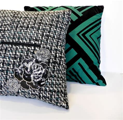 Embellished Throw Pillows by Hometalk Embellished Throw Pillow