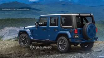 Jeep Jk News 2018 Jeep Wrangler Jl Renderings Photo Gallery Autoblog
