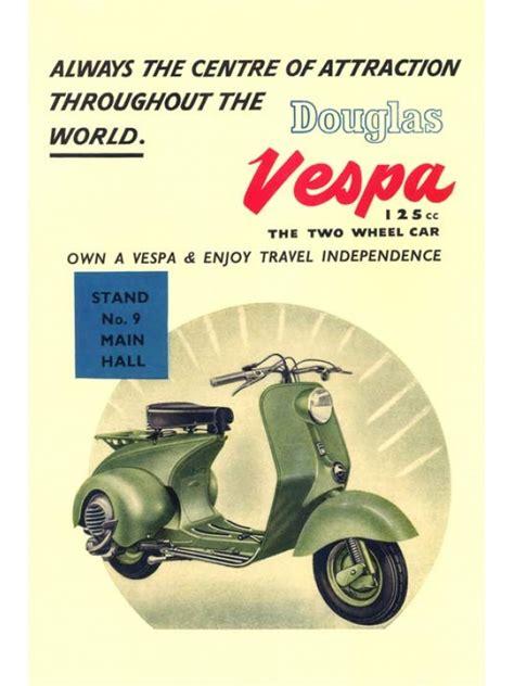 Vespa Vintage Poster vespa vintage poster