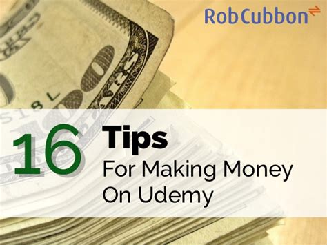 How To Make Money Online Passively - 16 tips on how to make money on udemy passive income from teaching