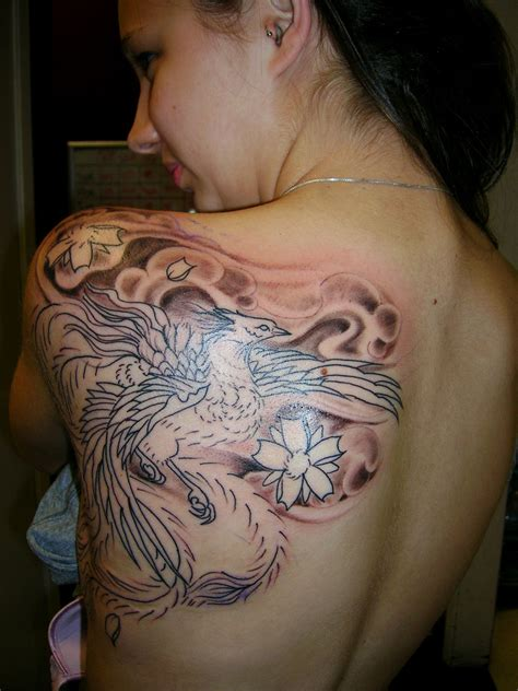 cool phoenix tattoo designs breathtaking designs for cool