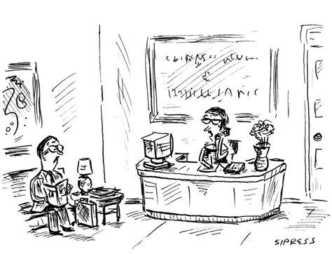 messaggio segreteria telefonica ufficio alcune vignette dal new yorker vedi sotto il n y e la