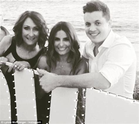 Reunites With Lynne by Johnny Ruffo Reunites With His Home And Away Co