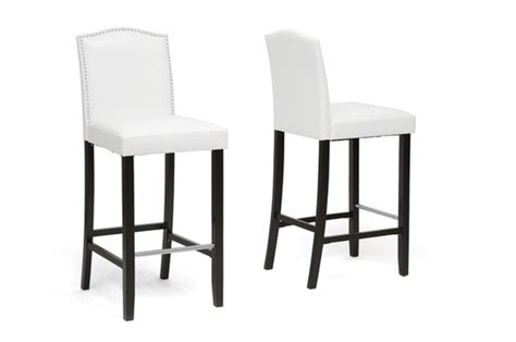 20 bayside bar stools modern furniture cheap baxton studio libra white modern bar stool with nail head