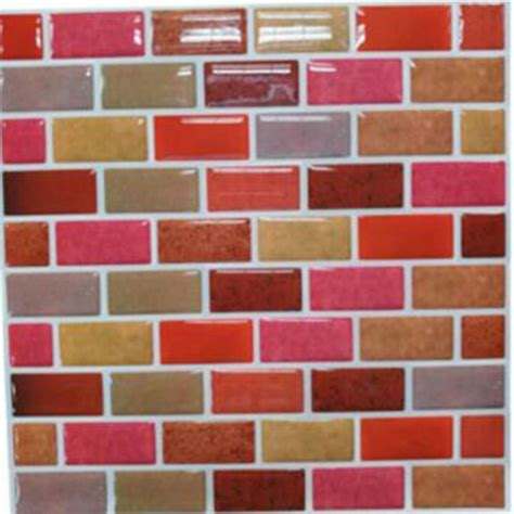 removable tile wallpaper parliment peel stick self wall tile anti mold peel and stick mosaic kitchen tile