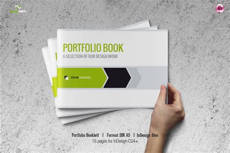 a5 booklet template portfolio booklet din a5 brochure templates on creative