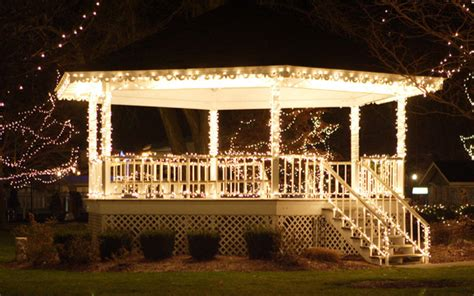 gazebo string lights gazebo lighting different types of lighting for your gazebo
