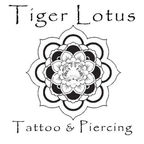 tiger lotus tattoo tiger lotus and piercing piercing