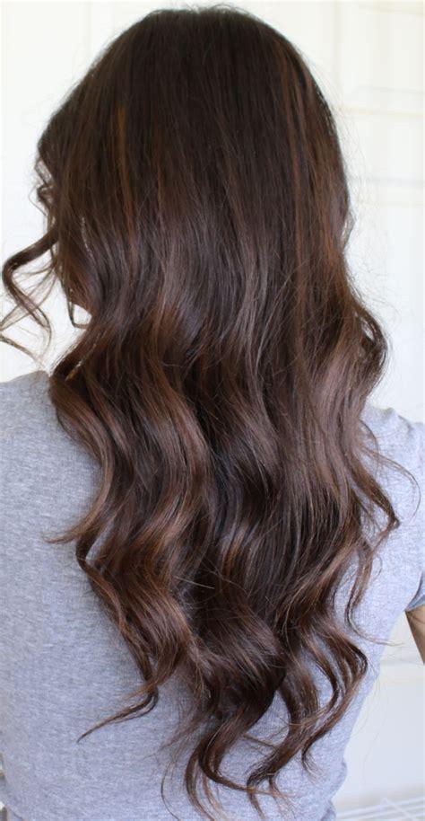 balayage highlights on dark brown hair auburn balayage highlights on brunette hair