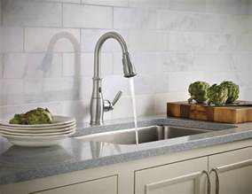 moen 7185esrs brantford with motionsense single handle moen introduces a hands free faucet that actually works