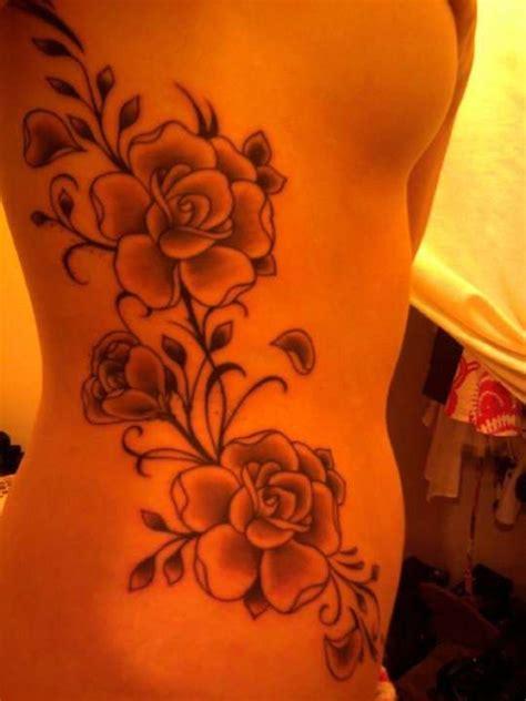 tattoo flower on side flower tattoo on side tattoo ideas pinterest
