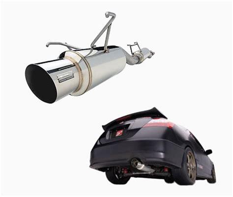 skunk2 megapower exhaust system for 1993 honda civic