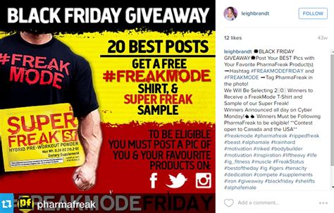 Giveaway Hashtags Instagram - 7 black friday ideas for caigns on social media rignite