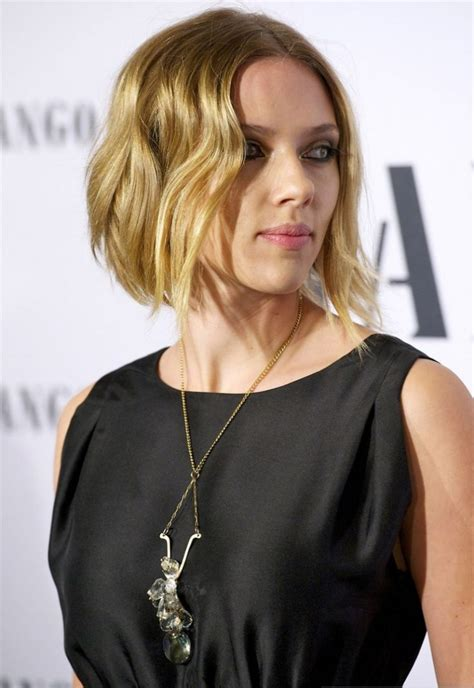 did scarlett johansson cut her hair 28 short choppy hairstyles hairstyles design trends